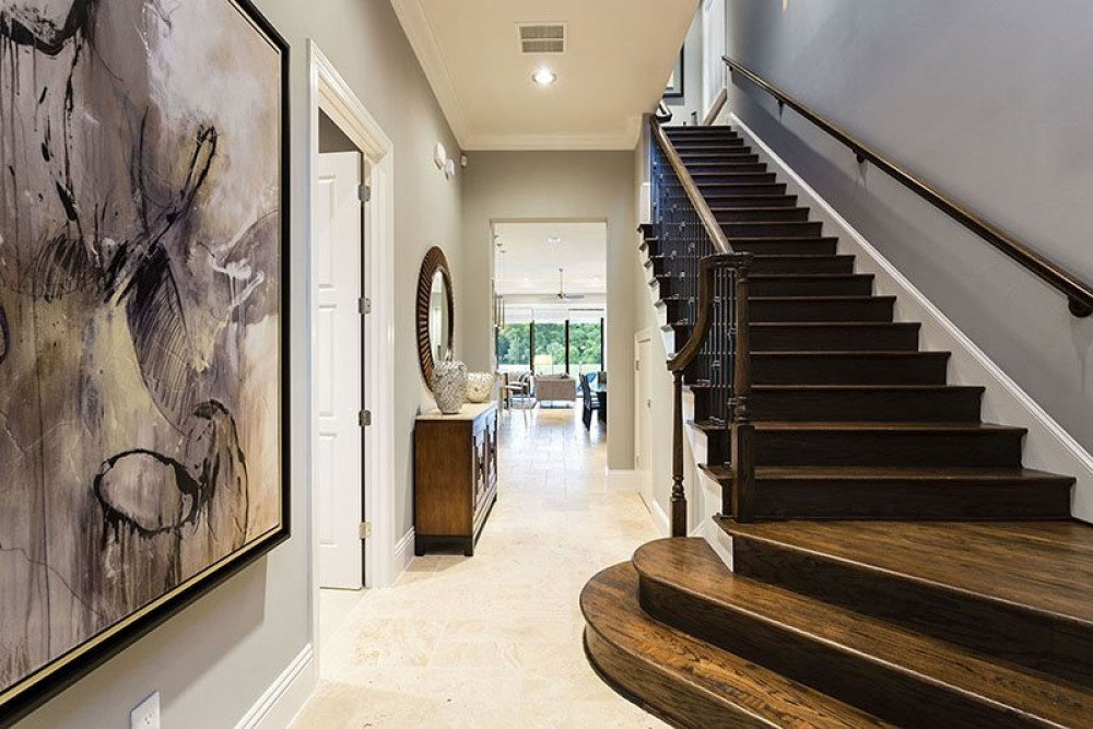 Gorgeous entry way of the villa
