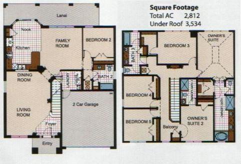 Floorplan of bsv_villa2522