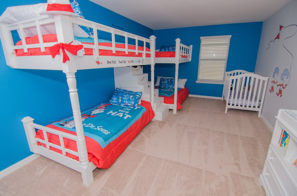 Dr. Suess Themed Room