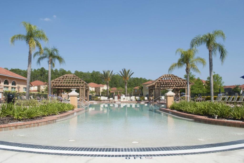 Resort Pool Area