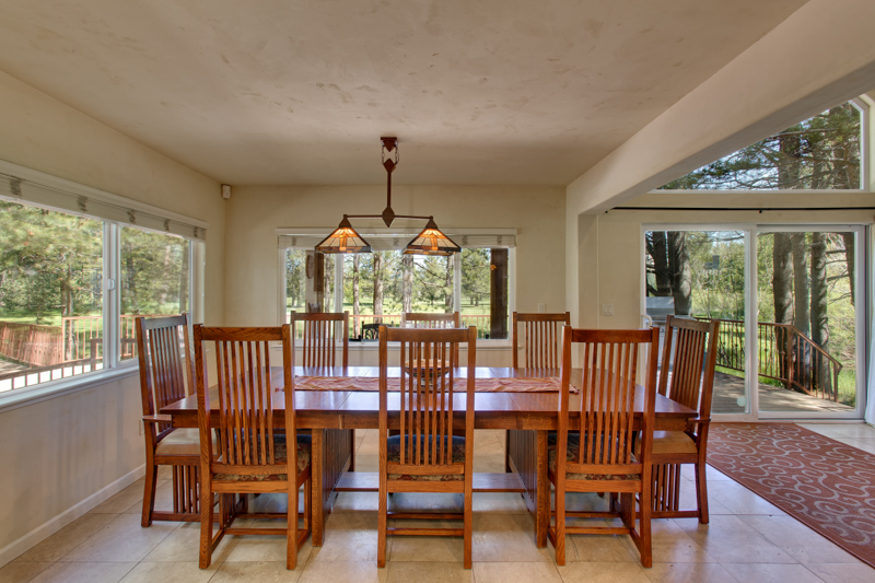 Dreamy Cabin Dining Table Seats 8