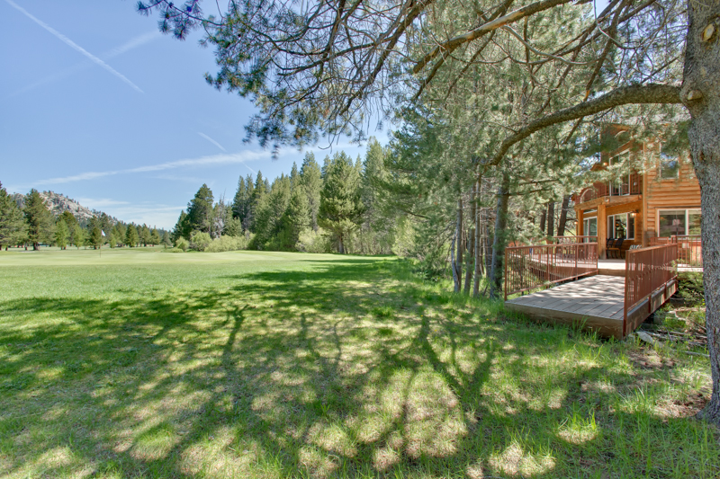 Located on the Tahoe Golf Course with Beautiful Deck Area