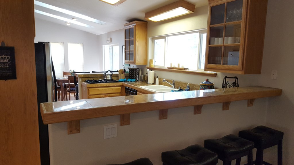 Spacious Kitchen Adjacent to Dining Area
