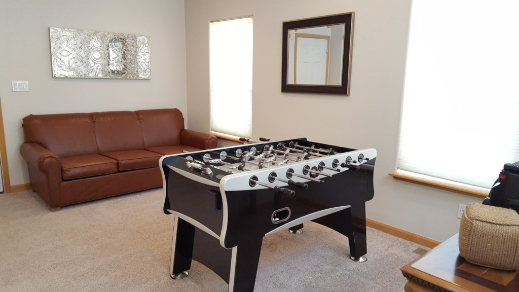 Fooseball Table for Family Fun