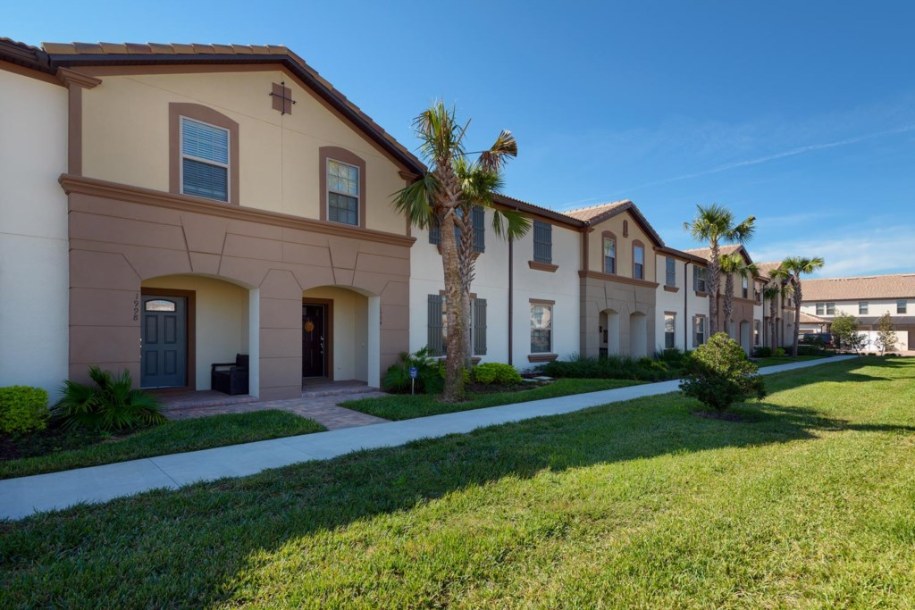 Reserve this Windsor at Westside town home for your Orlando vacation