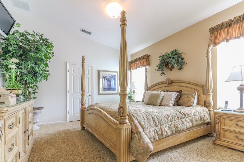 Spacious king master suite 1