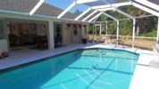 Salt water heated lap pool (solar + Electric)