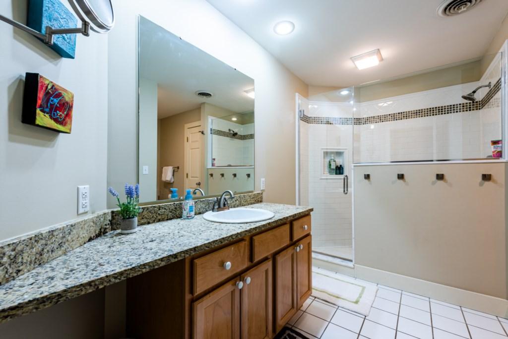 Bathroom #1 (Full Bath Tub & Shower)