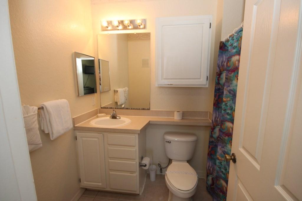 Ensuite Master Bathroom.  Shower/Tub