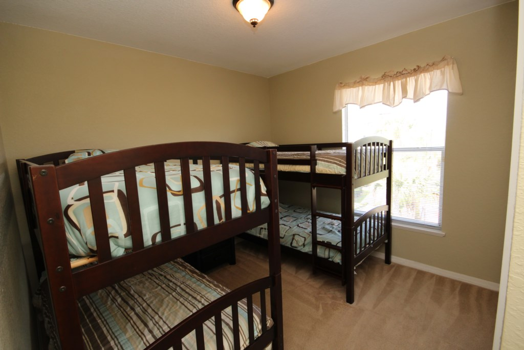 Guest Bedroom 3 - Two Twin Bunk Beds