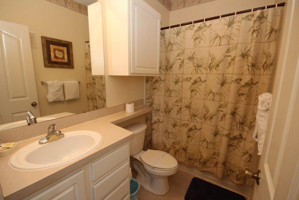 Hallway Bathroom - Shower/Tub