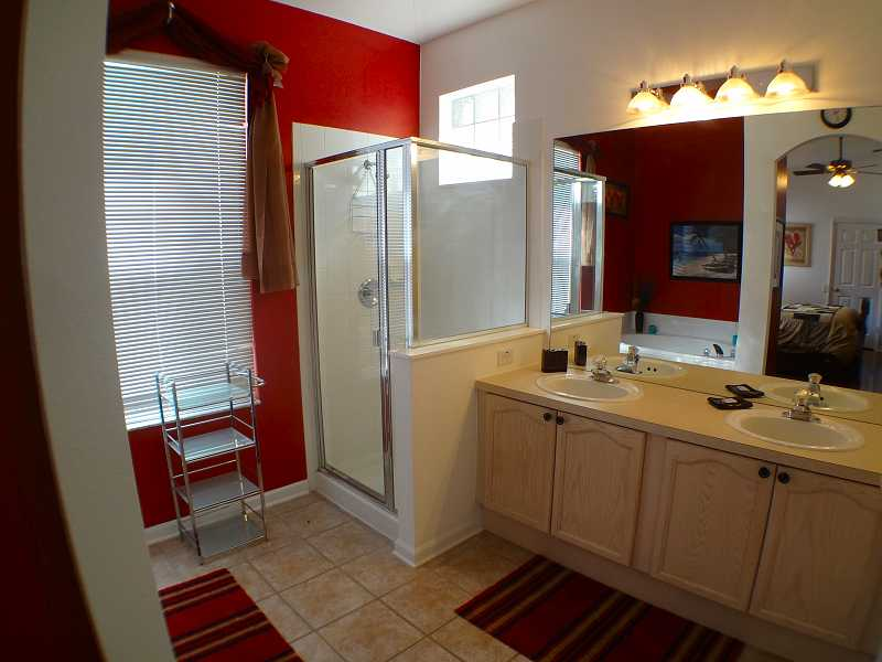 Kissimmee Vacation Home Rental | WP8112 Bathroom 3 | Champion Villas