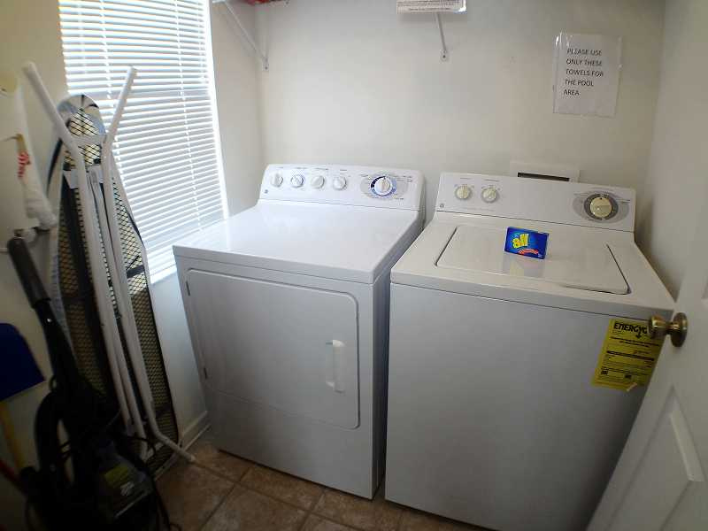 Kissimmee Vacation Home Rental | WP8112 Laundry Room| Champion Villas