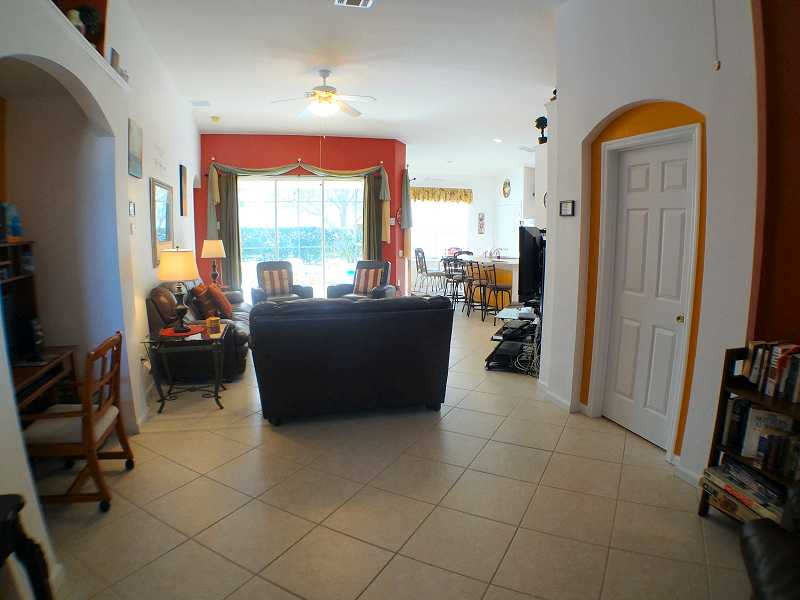 Kissimmee Vacation Home Rental | WP8112 Living Room b| Champion Villas
