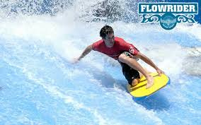 Flow-rider surfing