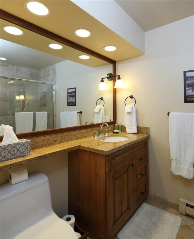 Guest Bath with Shower and Jacuzzi Tub