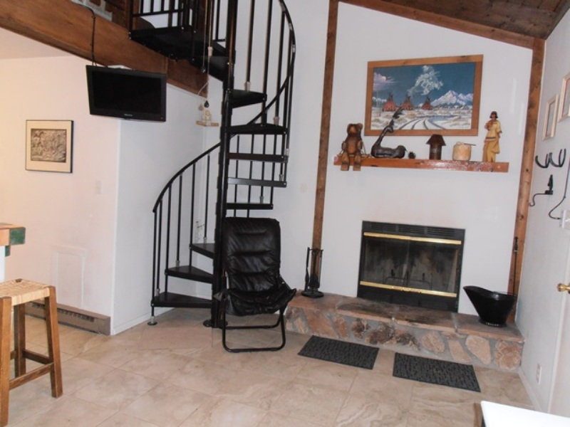 Stairwell/ Fireplace