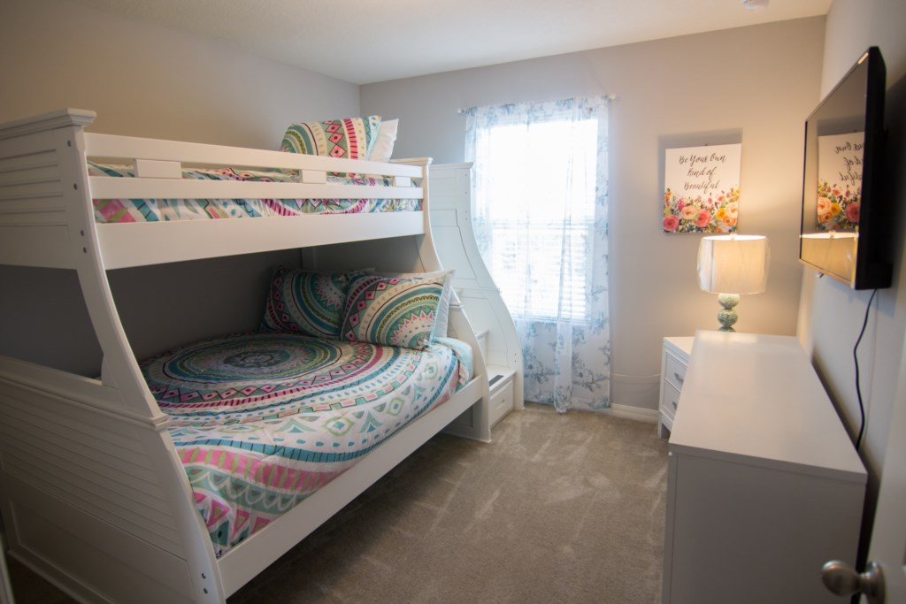 Spacious Room With A Full and a Twin