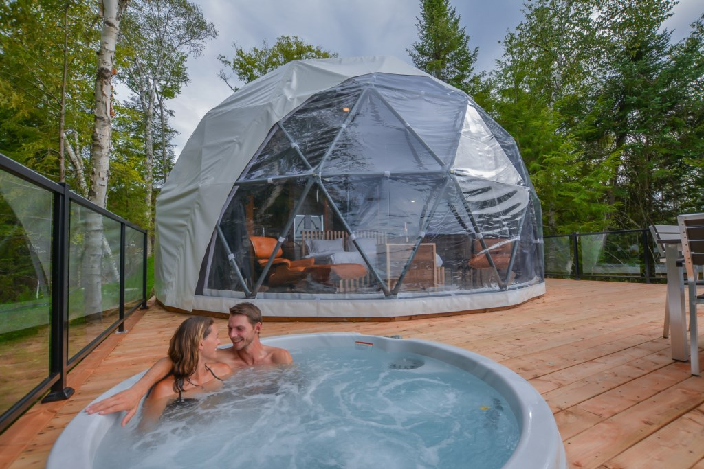 Love Nest Dome #1- <strong>sleeps 2</strong>