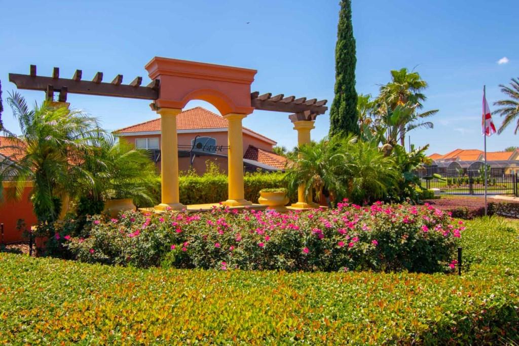 Solana Resort - Entrance Sign