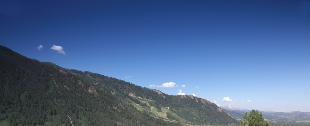 View Looking Up Aspen Mountain