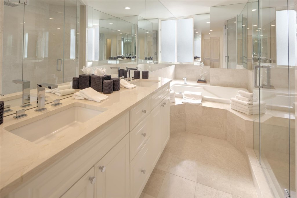 Guest Master with Jacuzzi Tub and Shower