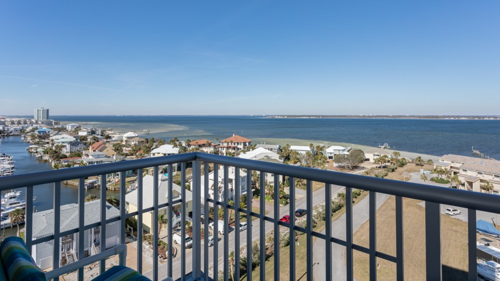 Balcony views from third bedroom