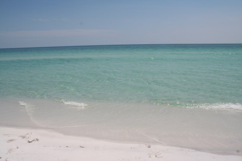 Gorgeous crystal waters