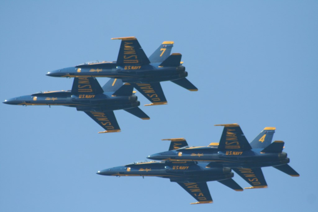 Dont miss the Blue Angels fly