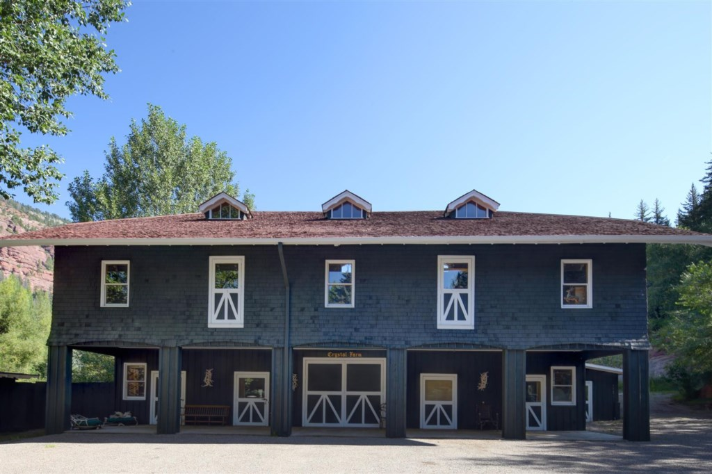 Barn work shop, studio and staff quarters