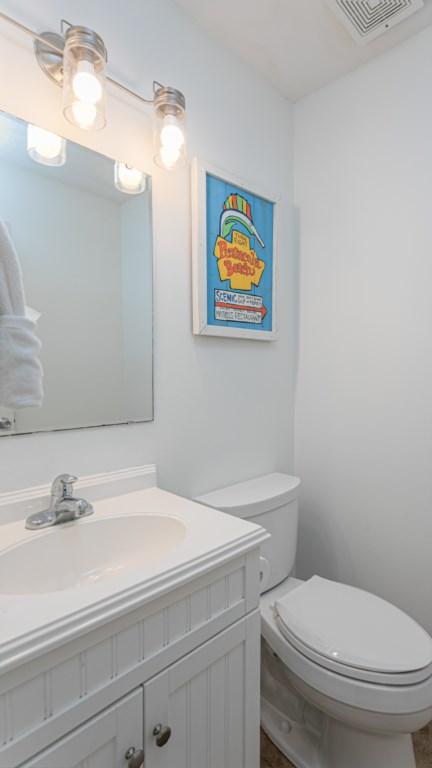 Half bathroom located on first floor