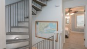 Staircase to loft area
