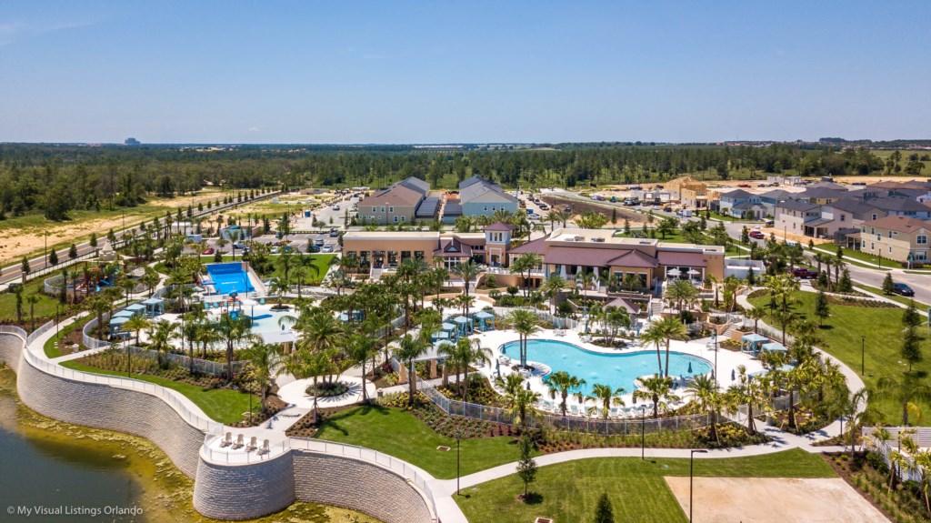 1719CVT Orlando Newest  Resort Community Town Home
