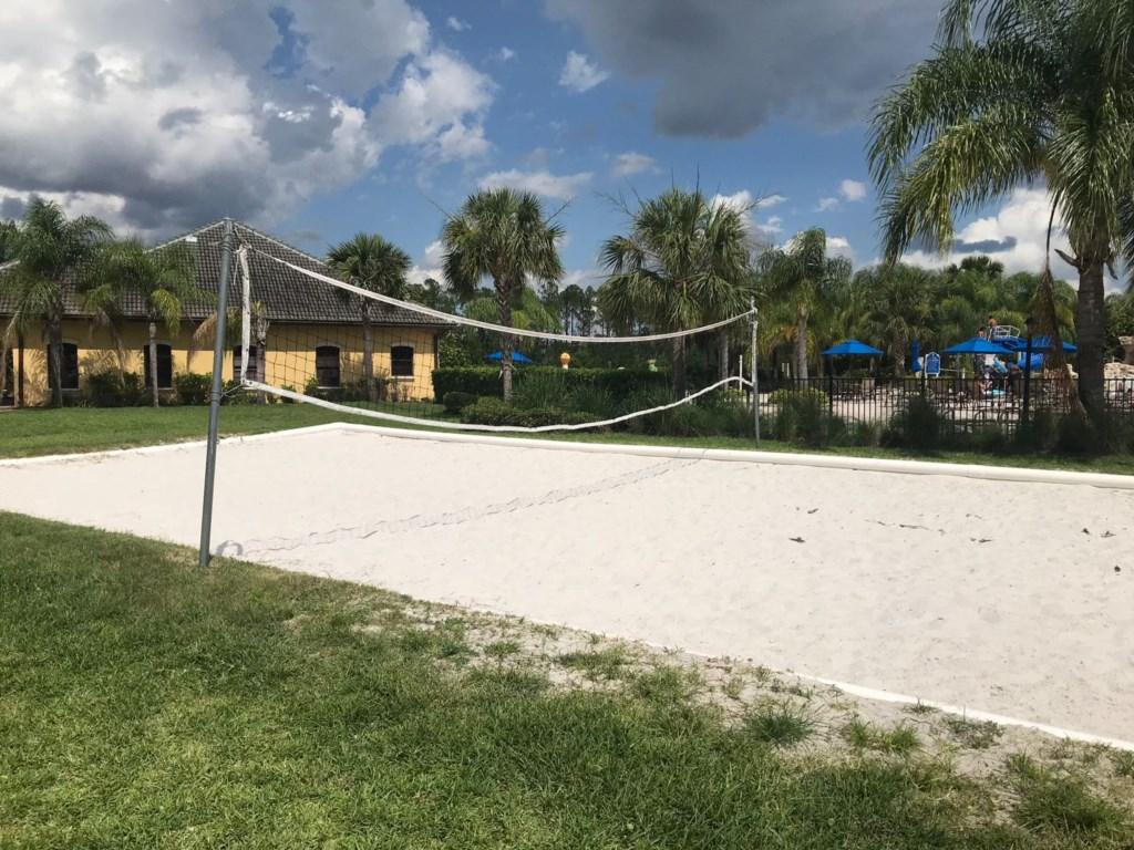 Volley court