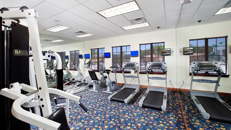 Paradise Palms gym