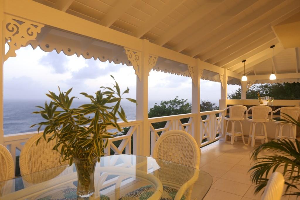 romantic evenings on the main balcony