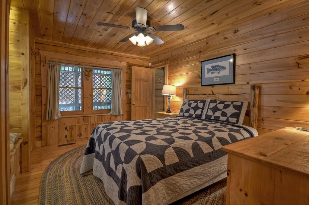 Main level queen size bedroom