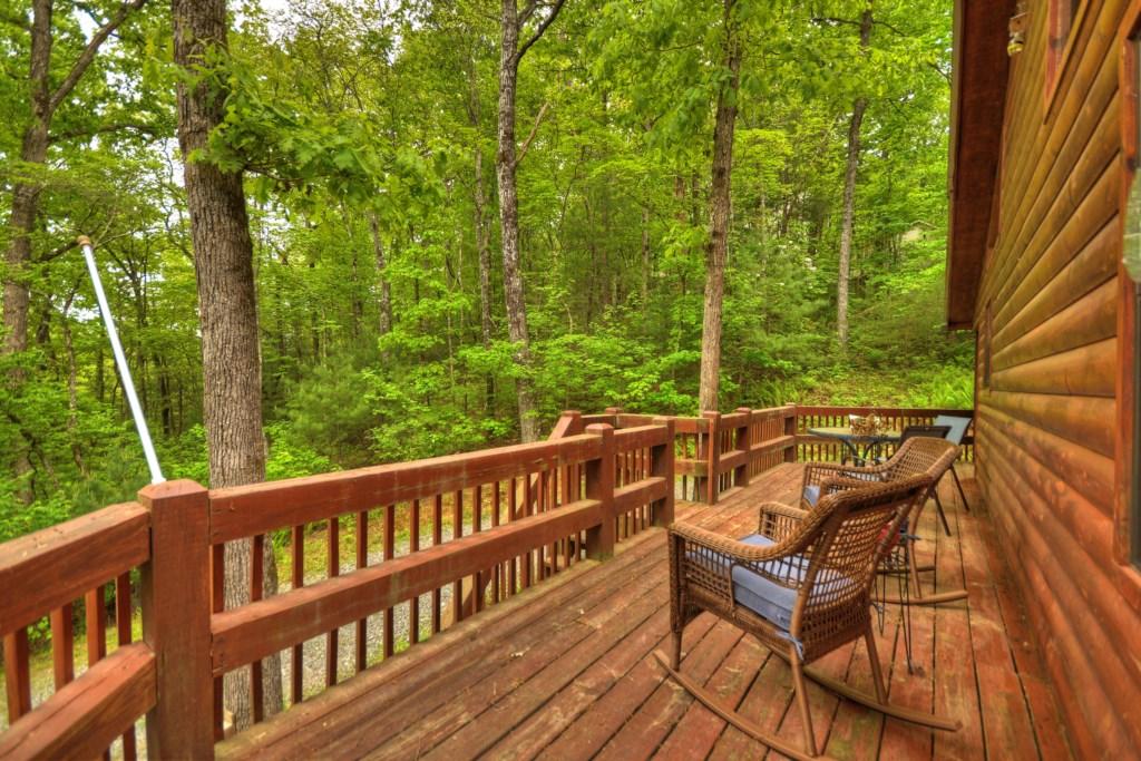 Stunning woodland views