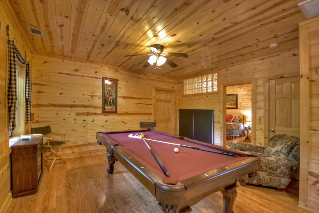Spacious Game Room