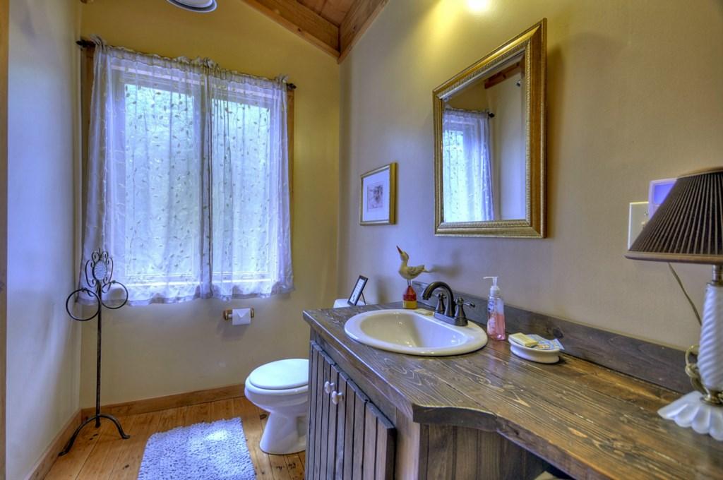 Loft level Bathroom
