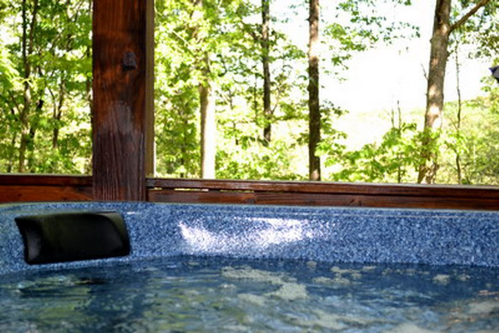 Wonderul views from the Hot Tub