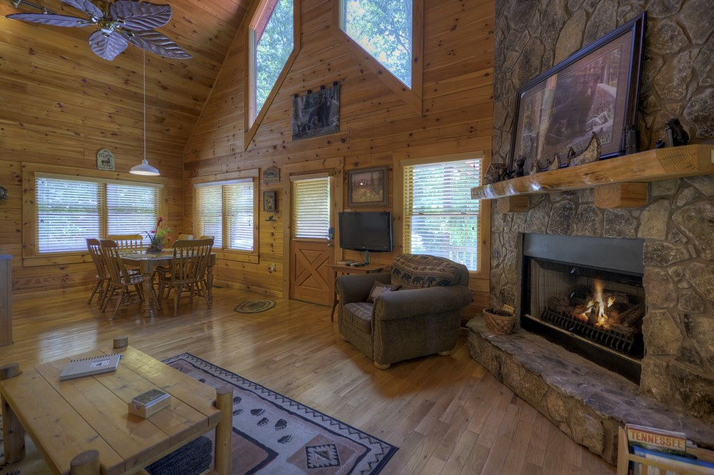 Open concept ideal for family gatherings