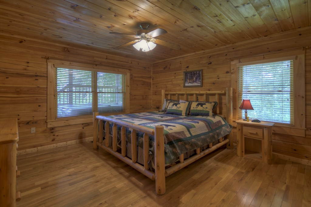 King Bed in Main Level Master Suite