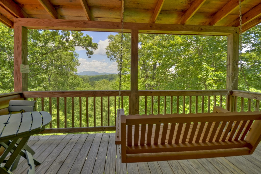 Loft Suite`s private balcony, another spot to enjoy that amazing view