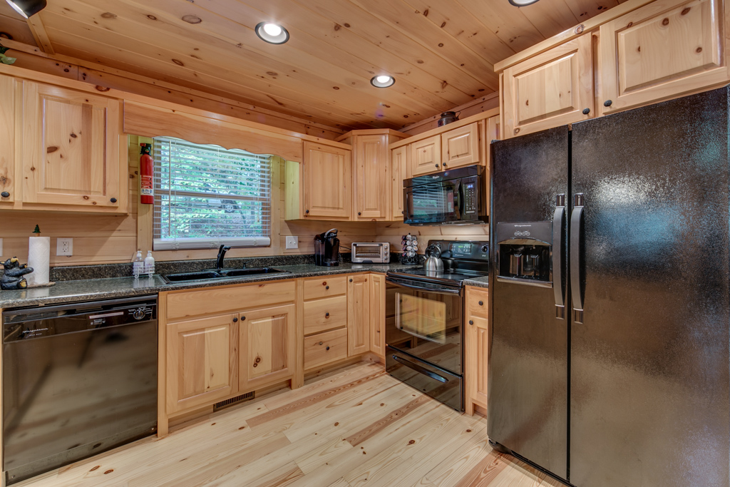 Comfortable well equipped kitchen at your disposal for quick snacks or meals