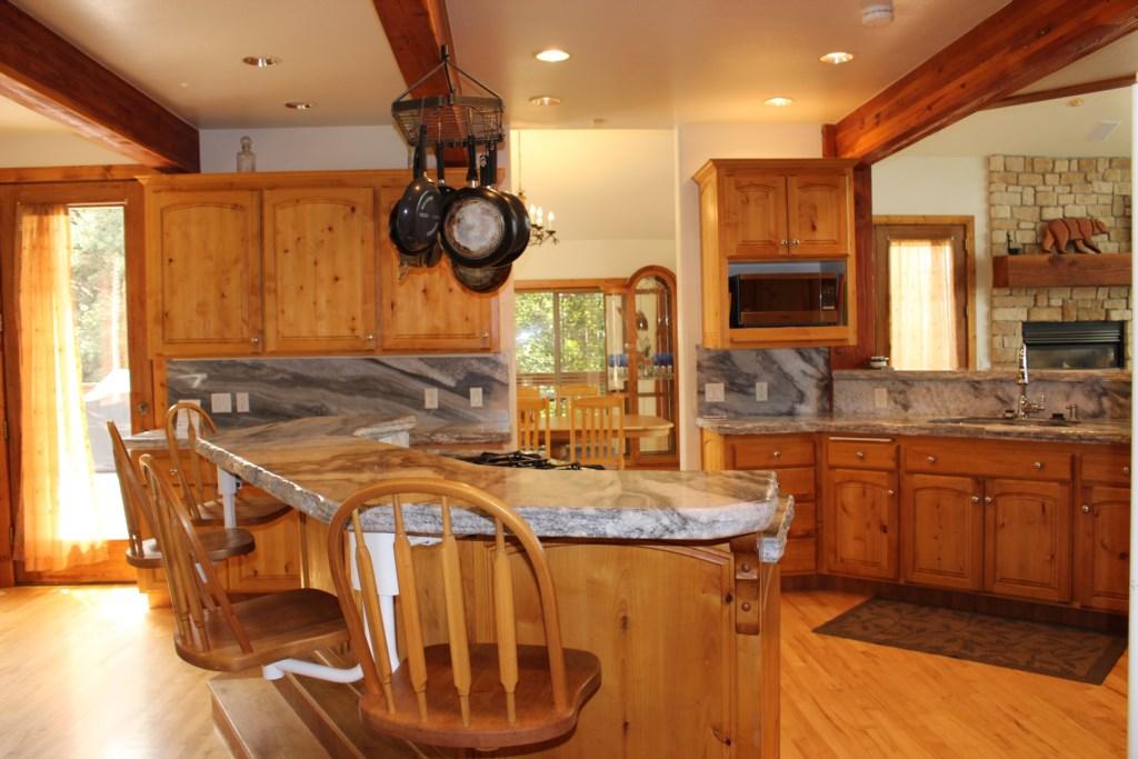 Kitchen on Main Floor