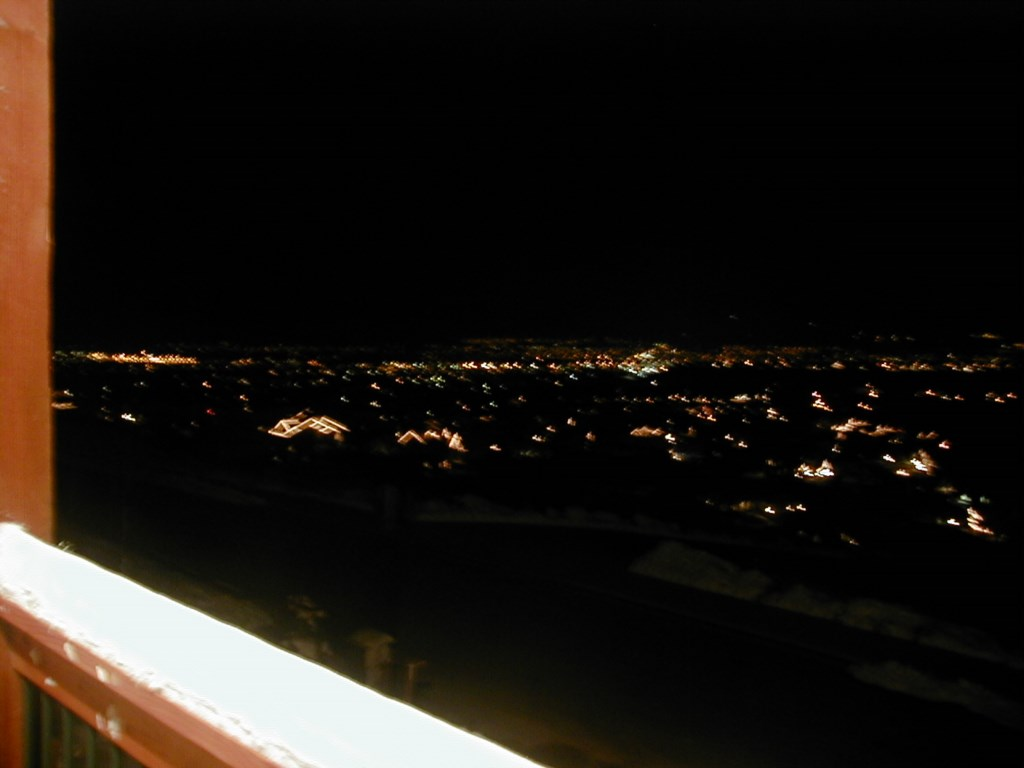 Night View of City Lights