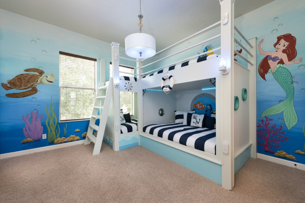 Under the Sea bunk room
