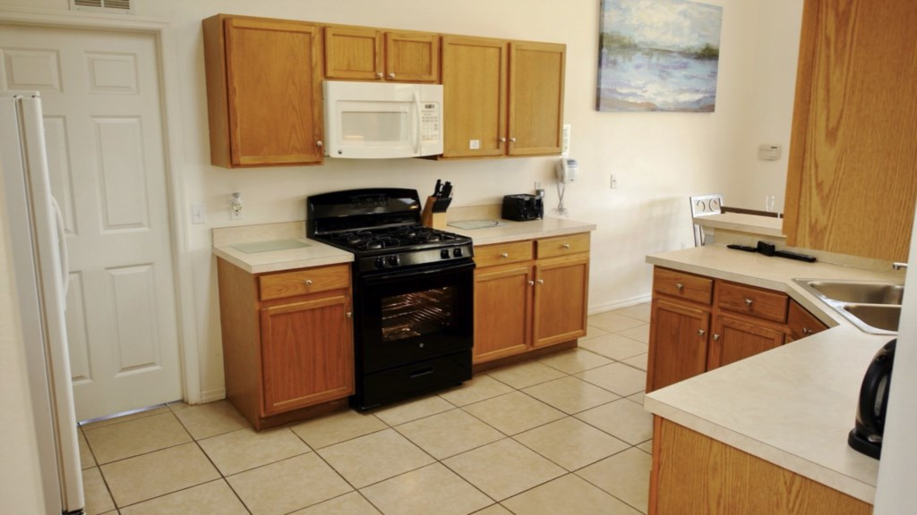 Plenty of counter space and storage - It truely is a home from home.