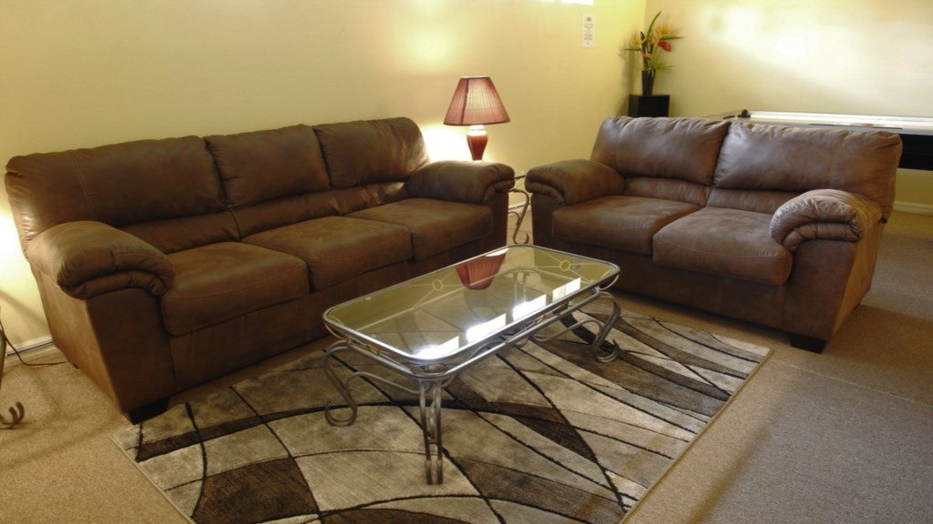 Comfortable for lounging and family gathering time.